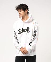 schott(ショット)のSchott/ショット/TYEDYE HOODED SWEAT BASIC LOGO/タイダイ フーデッド スウェット ベーシックロゴ(パーカー)