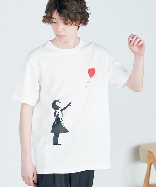 別注プリントART 半袖 Tシャツ/ビッグシルエット アートプリントカットソー/GIRL WITH A PEARL EARING/VINCENT WILLEM VAN GOGH/THE LAST SUPPER