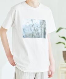 別注プリントART 半袖 Tシャツ/ビッグシルエット アートプリントカットソー/グラフィック カットソー/GIRL WITH A PEARL EARING/VINCENT WILLEM VAN GOGH/THE LAST SUPPERホワイト