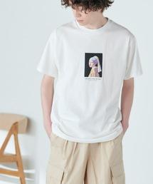 別注プリントART 半袖 Tシャツ/ビッグシルエット アートプリントカットソー/グラフィック カットソー/GIRL WITH A PEARL EARING/VINCENT WILLEM VAN GOGH/THE LAST SUPPERホワイト系その他2