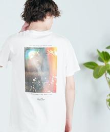 別注プリントART 半袖 Tシャツ/ビッグシルエット アートプリントカットソー/グラフィック カットソー/GIRL WITH A PEARL EARING/VINCENT WILLEM VAN GOGH/THE LAST SUPPERアイボリー