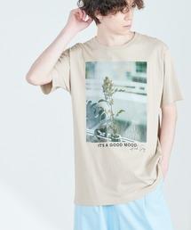 別注プリントART 半袖 Tシャツ/ビッグシルエット アートプリントカットソー/グラフィック カットソー/GIRL WITH A PEARL EARING/VINCENT WILLEM VAN GOGH/THE LAST SUPPERベージュ系その他7