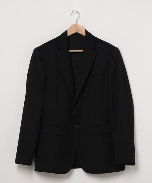 1ツ釦セミピークドラペルジャケット