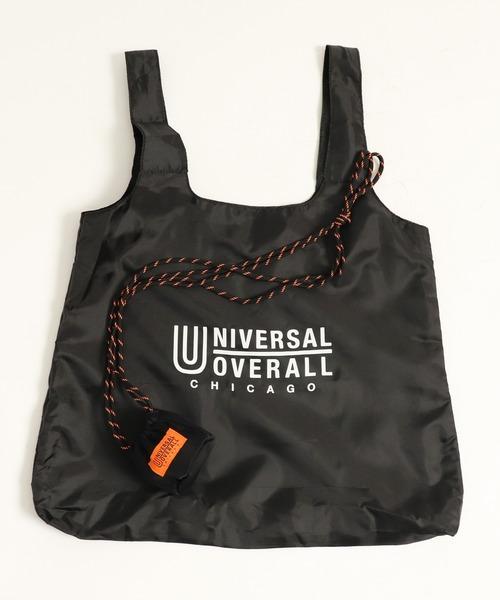 【 UNIVERSAL OVERALL / ユニバーサルオーバーオール 】 エコバッグ へそ巾着ポーチ  SUVO-005・・