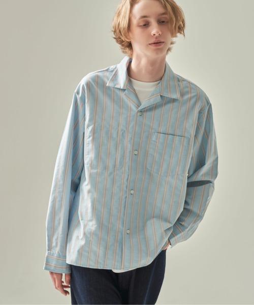DOOPZ ストライプボックスシャツ