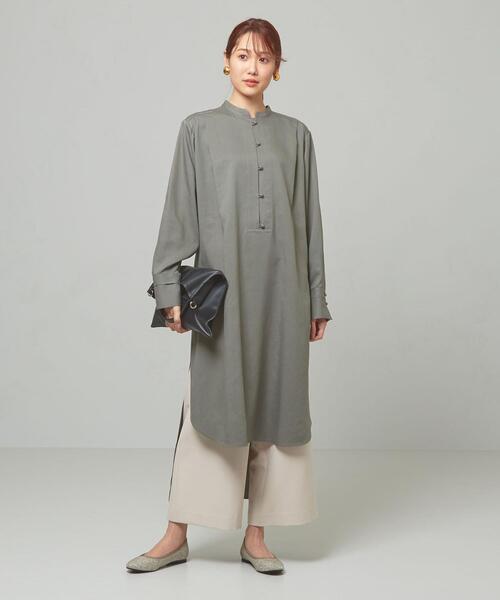 <ma couleur>SE/NY ロングシャツ