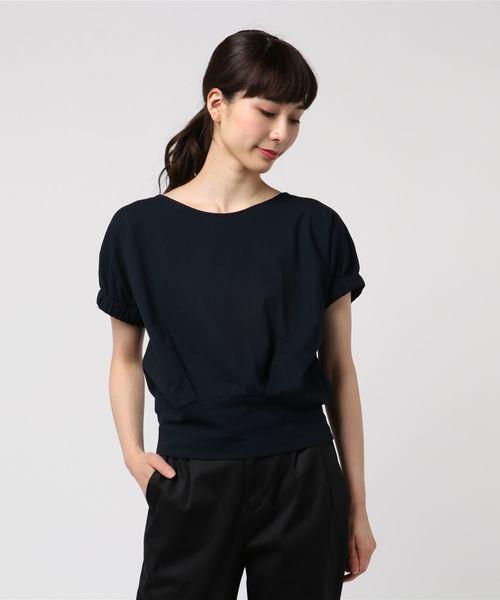 ドライコットンパフスリーブTシャツ