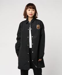PATCHED LONG COACH JACKET L(ナイロンジャケット)