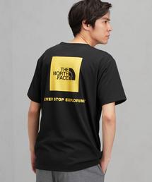[ザ ノース フェイス] SC THE NORTH FACE SQUARE ロゴ S/S Tシャツ
