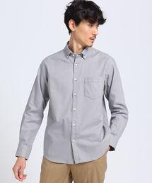 TAKEO KIKUCHI(タケオキクチ)のミニグラフ チェック ボタンダウンシャツ(シャツ/ブラウス)