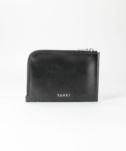 <YAHKI>レザージップ カードケース ウォレット