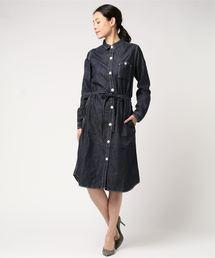3e3630de4b6c4 JAPAN BLUE JEANS LADIES(ジャパンブルージーンズ レディース)の「2WAY ロングシャツワンピース