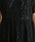 merlot plus(メルロープリュス)の「ドットチュール×レース切替ビスチェ風ワンピース7533(ドレス)」|詳細画像