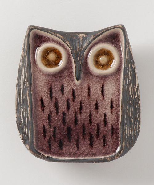 collex(コレックス)の「Jonathan Adler(ジョナサン・アードラー) Owl(その他雑貨)」|パープル