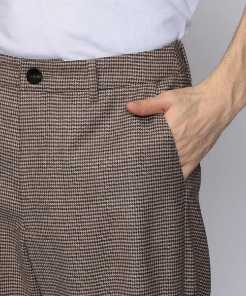 TOMORROWLAND(トゥモローランド)の「ウールツイル テーパードパンツ(その他パンツ)」|詳細画像