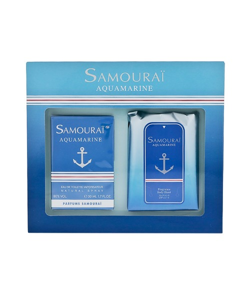 SAMOURAI AQUAMARINE CODDRET サムライ アクアマリン コフレセット SET20AAQUAMARIN オードトワレ50mL+ルームフレグランス