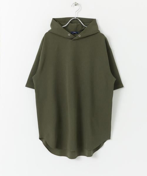 半袖フードTシャツ