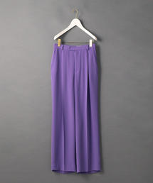 <6(ROKU)>GEORGETTE HIGH WAIST PANTS/パンツ