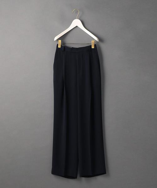 <6(ROKU)>GEORGETTE HIGH WAIST PANTS/パンツ ◆