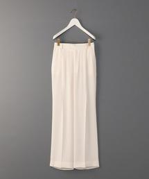 <6(ROKU)>GEORGETTE HIGH WAIST PANTS/パンツ
