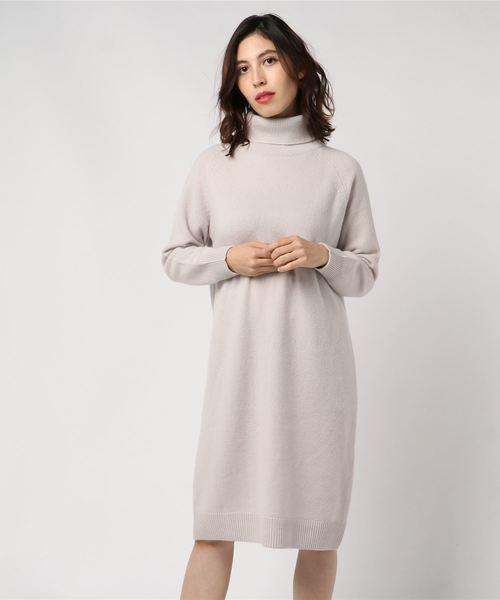 2019年最新入荷 【セール】《YVON》オフタートルニットワンピース(ワンピース)|YVON(イヴォン)のファッション通販, オオウチヤマムラ:25d480a8 --- bioscan.ch