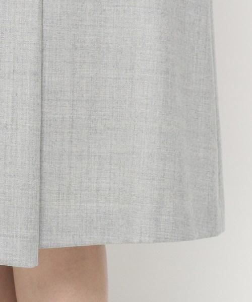 Modify(モディファイ)の「ハイカウントフラノ スカート(スカート)」|詳細画像