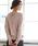 ROPE' PICNIC(ロペピクニック)の「【WEB限定】バックレースアップニット(ニット/セーター)」|ピンク
