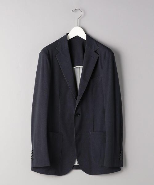<SOVEREIGN(ソブリン)> カルゼプリント 3B ソフトジャケット