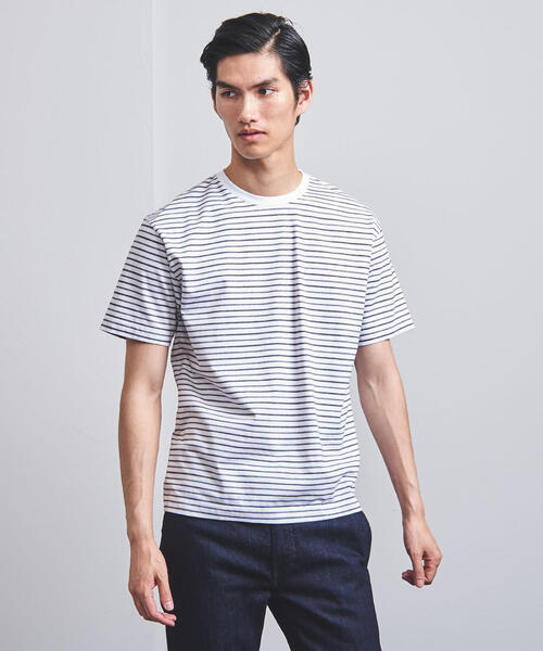 <UNITED ARROWS> ボーダー カットソー