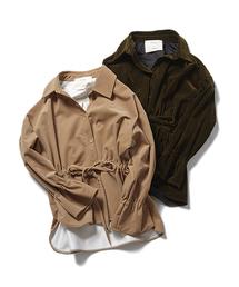 DRWCYS(ドロシーズ)のドロストコーデュロイシャツ(シャツ/ブラウス)