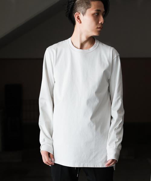 新作モデル 60/2 ギザシルキー天竺 クルーネックL/S(Tシャツ/カットソー)|ATTACHMENT(アタッチメント)のファッション通販, PRIZM7:709d7fe4 --- 5613dcaibao.eu.org