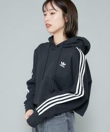 adidas(アディダス)の【adidas/アディダス】CROPEDHOOD/クロップド丈フーディー/パーカー(パーカー)