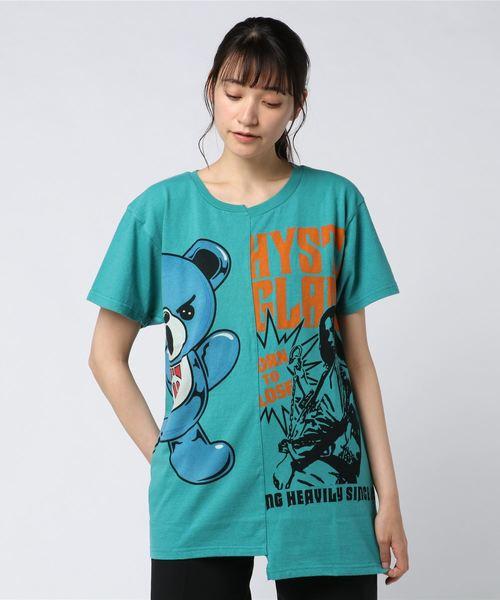 GIRL&HALF SLIME BEAR オーバーサイズTシャツ
