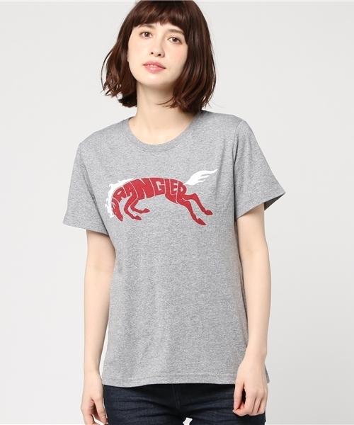 【Wrangler】プリントTシャツ