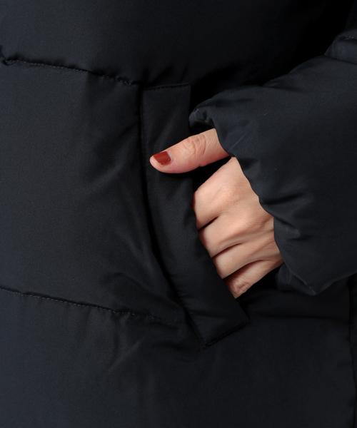 AIRCONファー付きフード中綿ショートコート