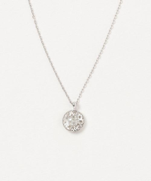 現品限り一斉値下げ! K18/ダイヤ デザインネックレス, フィッシャーマンズワーフさかい 031d95d8