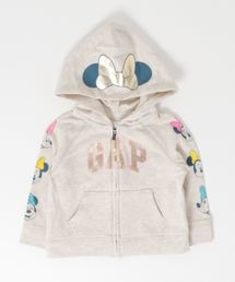 e4a132339bc04 GAP(ギャップ)のbabyGap Disney Minnie Mouse Gap Logo Hoodie Sweatshirt(パーカー)