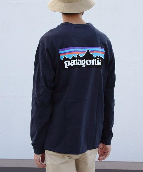 patagonia / パタゴニア ロングスリーブ P6 ロゴ レスポンシビリティー L/S P6 LOGO RESPONSIBILI-TEE