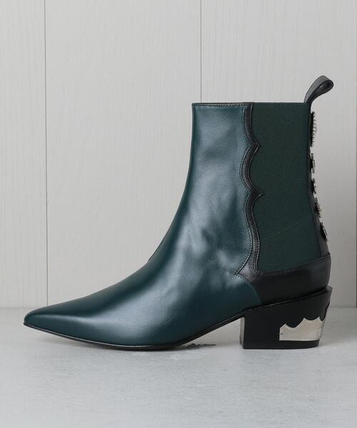 <TOGA PULLA>CONCHO SIDE GOA BOOTS/ブーツ. ◆