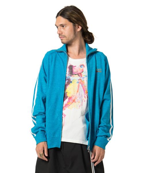 glamb(グラム)の「Meril knit jersey / メリルニットジャージー(ジャージ)」 ブルー