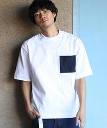 【WEB限定】USAコットンビッグシルエットクルーネックTシャツ