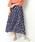 ikka(イッカ)の「プリーツマキシスカート(スカート)」|ネイビー