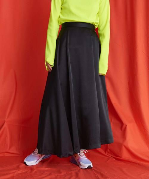 大量入荷 etサテンクレープマキシフレアスカート(スカート)|caph(カーフ)のファッション通販, 女満別町:3f9b3f7c --- ulasuga-guggen.de