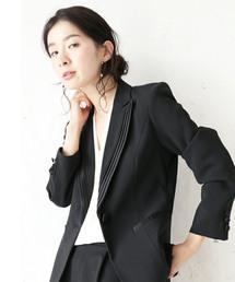 cawaii(カワイイ)のシンプルなのに気品を感じさせるブラックジャケット(テーラードジャケット)