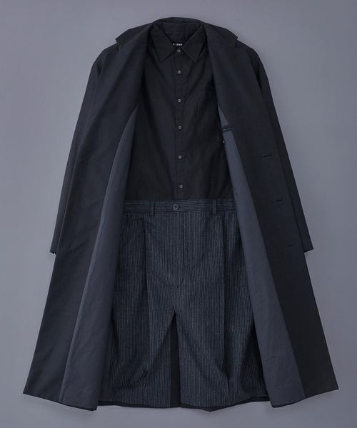 FRANK LEDER ARCHIVE EDITION COAT + SHIRT / TROUSERS (0421058)
