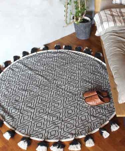 cotton rug 2153 circle / コットンサークルラグマット