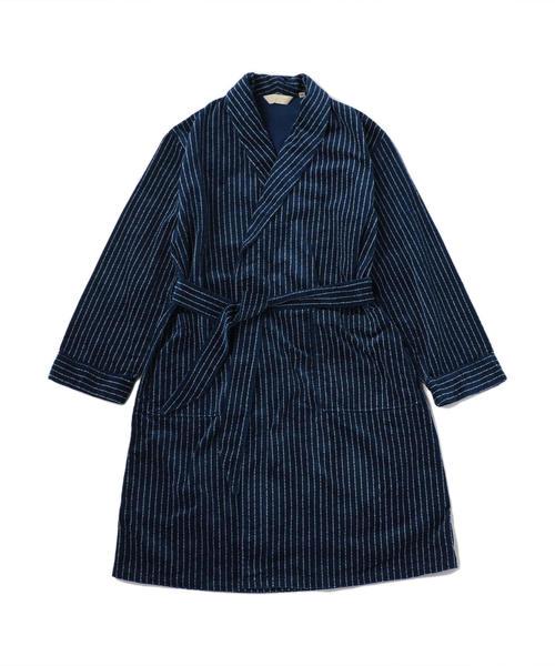 THE STYLIST JAPAN(ザ スタイリスト ジャパン) INDIGO BELTED COAT