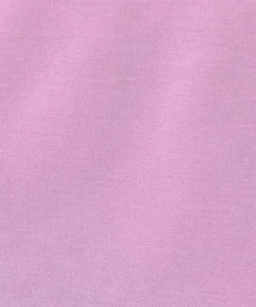 NOLLEY'S(ノーリーズ)の「ハイゲージ天竺ハイネックプルオーバーカットソー(Tシャツ/カットソー)」|詳細画像