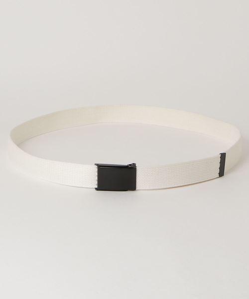 【 SUSPENDER FACTORY / サスペンダーファクトリー 】TAPE BELT テープベルト MADE IN USA