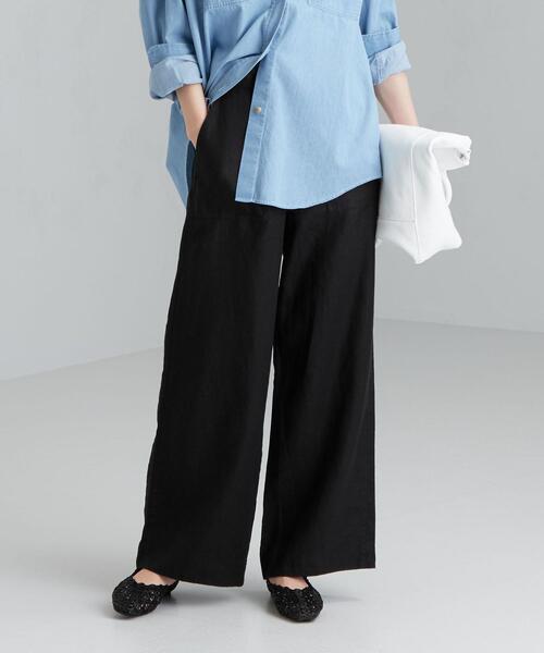 [ コルトレイクリネン ] ◆SC ベイカー パンツ